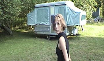 Young Katriona Finds a Camper